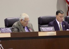 State Assemblymen Fred Thiele, Steve Englebright and Anthony Palumbo and State Senator Ken LaValle heard five hours of testimony Monday on the state's role in protecting Plum Island