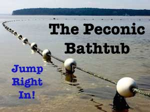 The Peconic Bathtub: Jump Right In!