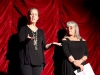 Fringe Festival organizers Cindy Clifford & Debbie Slevin introduced the opening night performances.